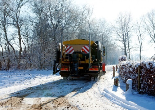 Quincy snow removal ice control service